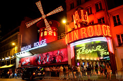 Moulin Rouge (Valantis Antoniades) Tags: moulin rouge cabaret paris france architecture night lights