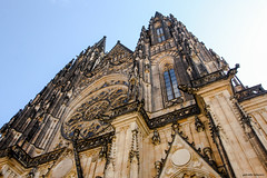 Reach the Sky (gabi-h) Tags: stvitus cathedral prague czechrepublic church grand sky architecture windows windowswednesday gabih europe travel attraction mustsee walls