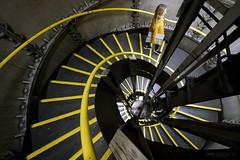 Spiralling into the Burrow - Borough (Luke Agbaimoni (last rounds)) Tags: london londonunderground londontube underground streetphotography stairs