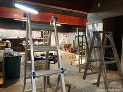 Ladders at The Parkway (CIAphotos) Tags: parkway parkwaytavern remodel ladders ladder construction aberdeenwa