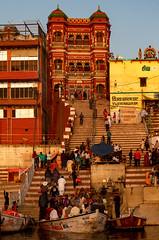Varanasi, India (Ninara) Tags: varanasi india uttarpradesh ghat ganges ganga gangaaarti sadhu nagasadhu sunrise morning bathing holycity vijayanagaramghat vijayanagaram kashi benares