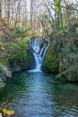 Waterfall at Ffwrnais 'Dyfi' Furnace, near Machynlleth, Powys, Wales. UK (3.3 mil views - Thank you all.) Tags: machynlleth wales unitedkingdom gb uk dyfifurnace staneastwood stanleyeastwood river furnace building waterwheel waterfall water wood copse