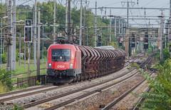 Wien Haidestrasse (kevinprince3) Tags: austria holiday2018 wien vienna obb bahn taurus 1116