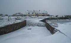 Harbour Drifts (EmPhoto.) Tags: harbourdrifts porlockweir exmoor winter snow uk emmiejgee landscapepassion harbour snowy drifts rare sonya7r sonyzeiss2470mm