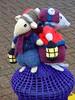 Tring's 'yarn bomb' display (Snapshooter46) Tags: tring knitteddolls yarnbomb streetdecoration knitting knittedanimals