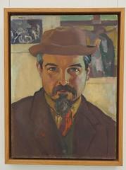 Maurice DENIS (1870-1943). Autoportrait (M_Strasser) Tags: montpellier olympus olympusomdem1 france frankreich