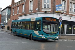 Arriva North West VDL SB200 2642 CX07CSZ - Warrington (dwb transport photos) Tags: arrivanorthwest vdl wright pulsa bus 2642 cx07csz warrington