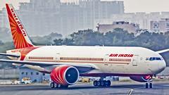 """Air India Boeing B777-200(LR) VT-ALF """"Jharkhand"""" New Delhi (DEL/VIDP) (Aiel) Tags: airindia boeing b777 b777200lr vtalf jharkhand newdelhi delhi canon60d tamron70300vc"""