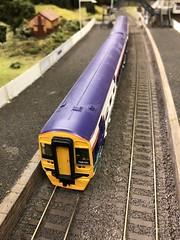 Class 158 (Callum's Buses and Stuff) Tags: class158 bachmann oo modlerailway elmrc newcastleton station waverlyroute borderrailway