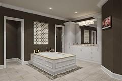Not sure how practical this bathtub is, but it sure is beautiful. The entire bathroom design is very elegant   #bathroomremodel #bathroomdesign #bathroom #marble #bathroomdesign #bathroom #bathroominspo #homeinterior #interior #interiors #instadesign #bat (CoolHomeStyling) Tags: instagram ifttt
