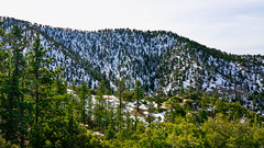 Angeles Crest Hwy (SR2 ) near Snow Crest. (topendsteve) Tags: sr2 angelescrest snow mountains trees winter