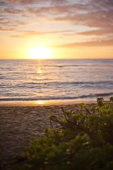 Sunset at Kihei (GregPierceImages) Tags: bokeh sunset beach kihei blurism blur dof maui looselens