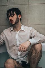 Bath | 2 (_ALBX_) Tags: indoor studio bath bathroom selfportrait man portrait photography photographer canon canon80d sigma 30mm albxphoto albx art