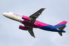 HA-LWL (Andras Regos) Tags: aviation aircraft plane fly airport bud lhbp spotter spotting takeoff wizz wizzair airbus a320