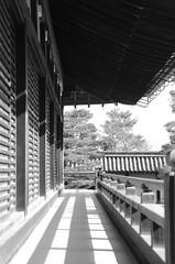 Tenryuji, Arashiyama, Kyoto, Japan (Plan R) Tags: tenryuji arashiyama kyoto monochrome blackandwhite temple nikon d7000 architecture