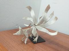Nine-tailed fox (Lê Huỳnh Đức) Tags: origami fantasy fox art paper paperart ninetailedfox