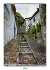 TILL THERE ARE NO MORE STEPS TO CLIMB (régisa) Tags: marche step rue street aubeterresurdronne charente médiéval ruemontante chemindelhôpitalsaintfrançois climb grimper