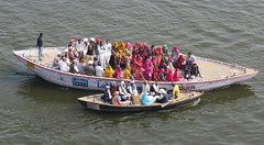 varanasi 2019 (gerben more) Tags: varanasi people boat pilgrim ganges ganga benares india woman colours colors