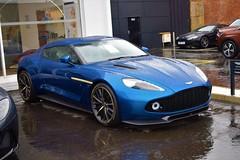 2017 Aston Martin Vanquish Zagato Coupe 6.0 V12 (>Tiarnán 21<) Tags: 2017 aston martin vanquish zagato coupe 60 v12 blue belfast uk ireland car rare