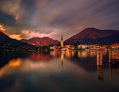 Magical Moment (BeNowMeHere) Tags: ifttt 500px trip alps baviera bayern benowmehere germany lake rottachegern schliersee tegernsee church clouds longexposure reflection travel