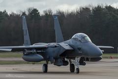 USAF, McDonnell Douglas F-15E Strike Eagle (98-0133/LN), 492nd FS/48th FW (mattmckie98) Tags: aviation aircraft airforce usaf us military mildenhall rafmildenhall nikon jet f15