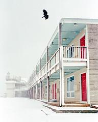 Off-Season (2019) (Jeffery Robert Photography) Tags: leica m4p voigtlander ultron 28mmf19 kodak portra400 35mm film snow