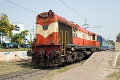 Indian Railways WDM-3A 18680 Secunderabad Junction (daveymills37886) Tags: indian railways wdm3a 18680 secunderabad junction alco