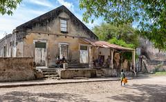 Ibo Town Hangout (Trouvaille Blue) Tags: africa mozambique capodelgado iboisland ibotown house trouvailleblue
