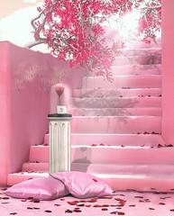 L248 (JoJo Delvalle - Photographer & blogger) Tags: secondlife game virtual 3d pink cute petals beauty astralia belle mossmink cupidinc foxcity