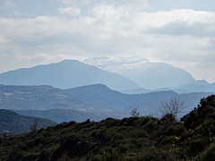 Imposing Psiloritis. (Ia Löfquist) Tags: idamassivet psiloritis berg mountain snö snow cloud moln