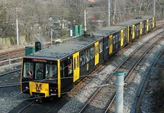 Tyne & Wear Metro: 4030 + 4085 South Gosforth (emdjt42) Tags: tynewearmetro southgosforth branchlinesociety 4030 4085