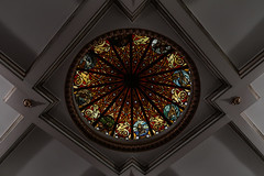 Upper Circle (PChamaeleoMH) Tags: architecture coliseum stainedglass theatre