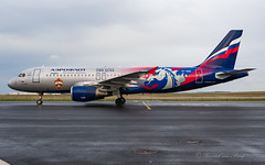 AFL_A320_CSKA_VPBWD_BRU_MAR2019 (Yannick VP) Tags: civil commercial passenger pax transport aircraft airplane aeroplane jet jetliner airliner su afl aeroflot russian airlines airbus a320 320200 vpbwd taxi taxiway inn inner airside platform brussels airport bru ebbr belgium be europe eu march 2019 special colors livery colours paint scheme cska moscow aviation photography planespotting airplanespotting
