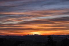 Ocaso seguro (lebeauserge.es) Tags: madrid dehesadelavilla naturaleza atardecer cielo nube sol