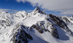 Stubaier Wildspitze, 3341m, Tirol (Uwe Kögler) Tags: alpen alps tirol austria stubai gletscher ferner wildspitze österreich gipfel grate schnee snow mountains viewpoint topoftirol
