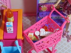 Shopping (BackToTheChildhood80) Tags: barbie doll mattel dreamhouse susy blond red malibu market set