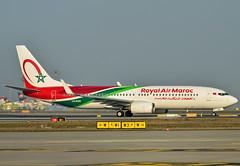 CN-ROS Royal Air Maroc Boeing 737-800 (czerwonyr) Tags: cnros royal air maroc boeing 737800 fra eddf