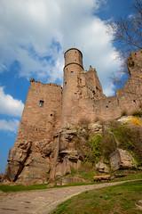 Burg Hanstein (c.keim) Tags: sky nature outside castle burg landscape