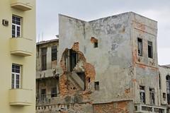 Renewal and decay on El Malecon (designwallah) Tags: havana urbanexploration elmalecón lahabana cuba favourite nikond70s havanawall
