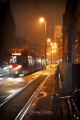 Traffic (r.wacknitz) Tags: city citylights streetlife traffic fog yellow braunschweig niedersachsen nikond3400 nikkor