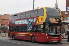 In With The Sort Of New! (Ben Cavers) Tags: nationalexpresswestmidlands nxwm outercircle alexanderdennis adl alexanderdennisenviro400mmc adlenviro400mmc enviro400mmc nxwm6125 sn15lgu