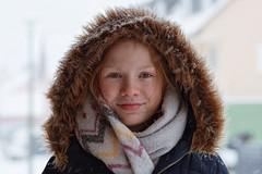 Portrait | Snow is fallin' (picsessionphotoarts) Tags: nikon nikkorlenses nikonphotography nikonfotografie portrait porträt portraitfotografie portraitphotography festbrennweite primelens afsnikkor85mmf18g lichtundschatten lightandshades redhairs nikond850 winter snow schnee snowisfallin