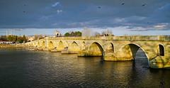 Meriç Bridge - Edirne/Turkey (meren34) Tags: meriç river bridge edirne turkey historical ottoman arch arthitect architectural stone old