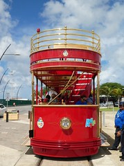 Aruba Streetcar (Stabbur's Master) Tags: cruising cruise carnivalcruiseline caribbeancruising caribbeansea caribbeanisland aruba streetcar arubastreetcar doubledeckstreetcar tram trolley publictransit publictransportation oranjestad oranjestadstreetcar arubus