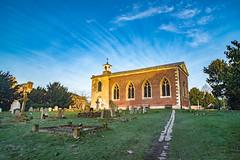 Windswept chapel (karina Novakova) Tags: chapel church churches religion cloud clouds sky skyscape leading leadinglines