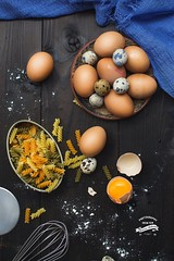Yellow (Borislav Aleksiev - Food) Tags: pasta yellow food nikon eggs light wood
