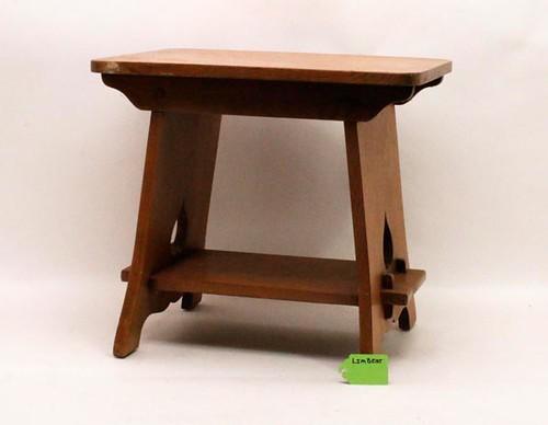 Oak Limbert Cricket stool ($420.00)