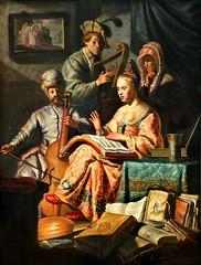 Rembrandt van Rijn. Musical Company. 1626 (arthistory390) Tags: rijksmuseum