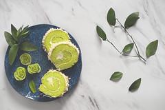 pandan roll cake (asri.) Tags: 2019 onwhite bakinghomemade foodphotography foodstyling 50mmf14