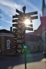 The Middle of Knowhere (timvandenhoek1) Tags: stegenevieve missouri midwest timvandenhoek sonyilce6000 lensbabycomposerproii lensbabysweet35optic streetsign sign signage streetphotography historicdistrict french settlement tiltshift